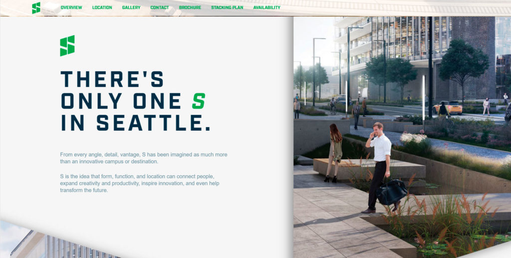 Seattle website screenshot 2