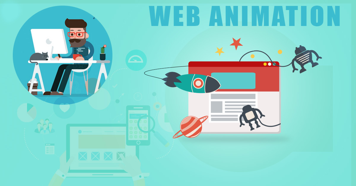 Web animation for modern projects