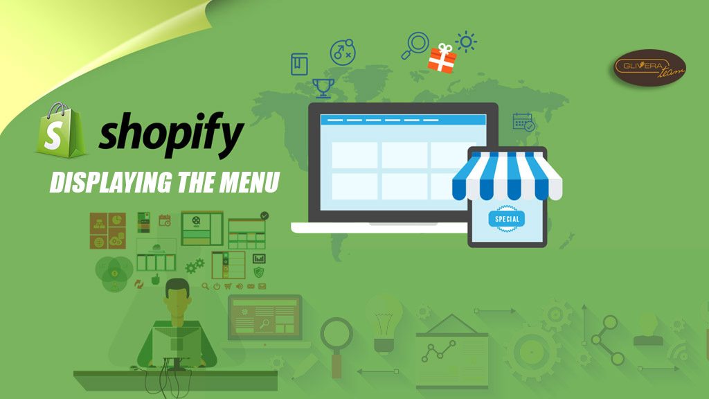Shopify Displaying the menu