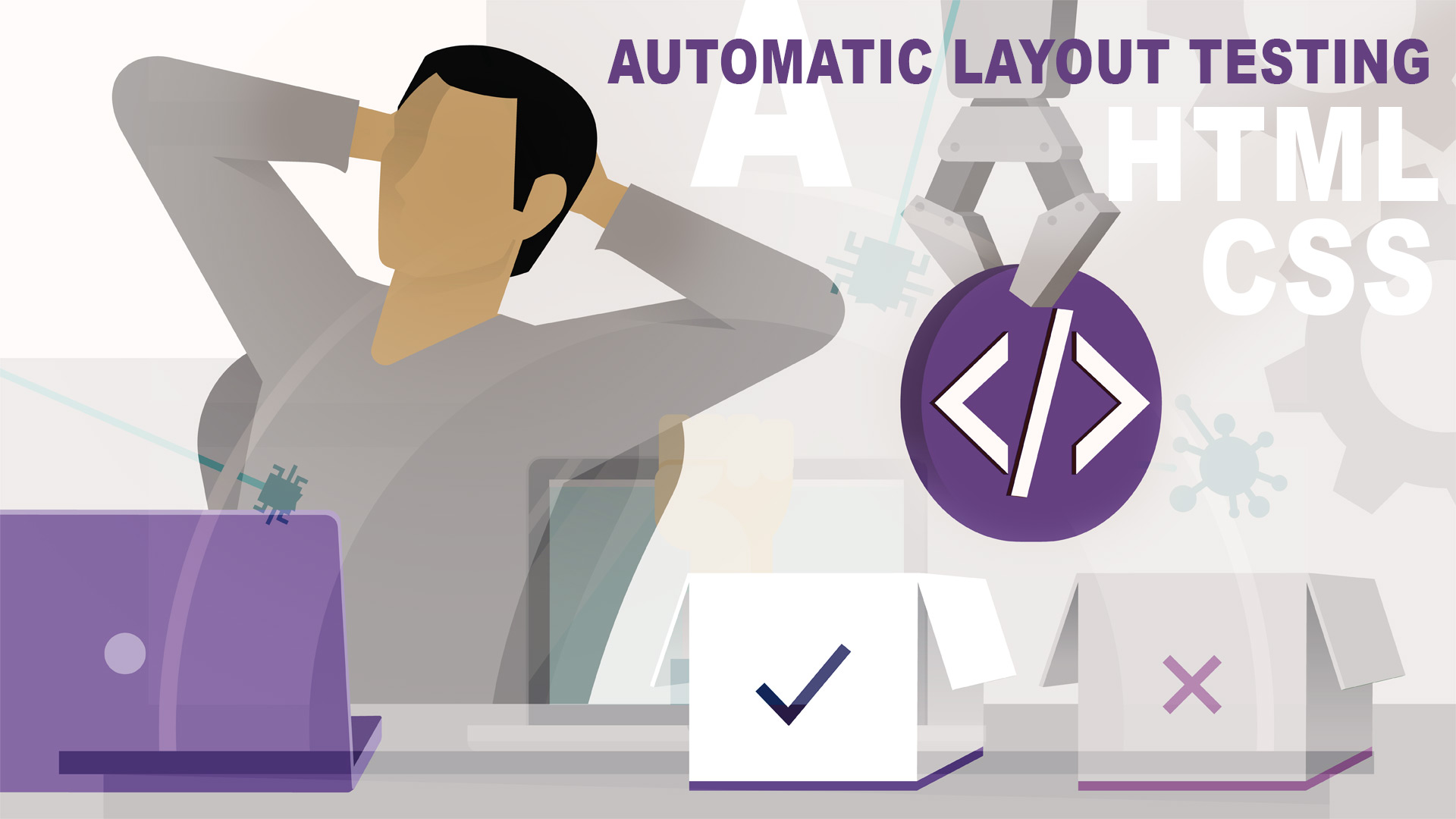 Automatic layout testing in Frontend