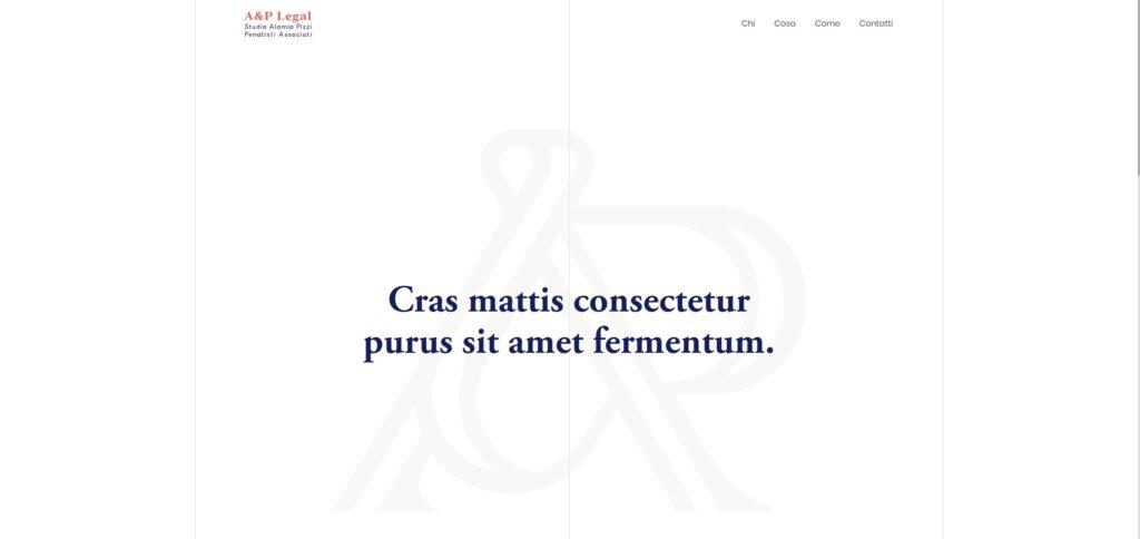 Aplegal website screenshot 1