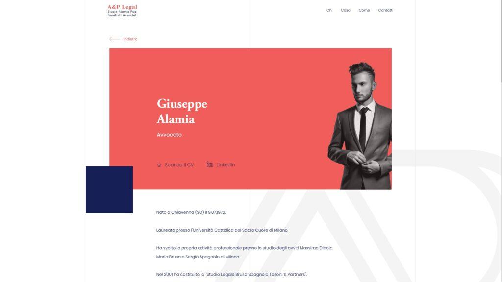 Aplegal website screenshot 3