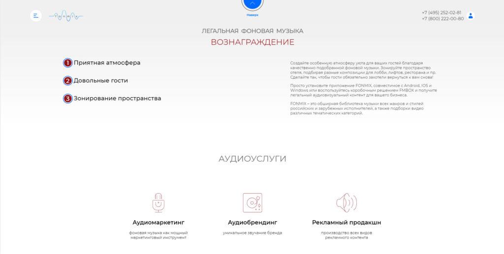 Rozum website screenshot 3
