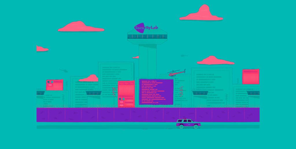 Security Lab website screenshot 1