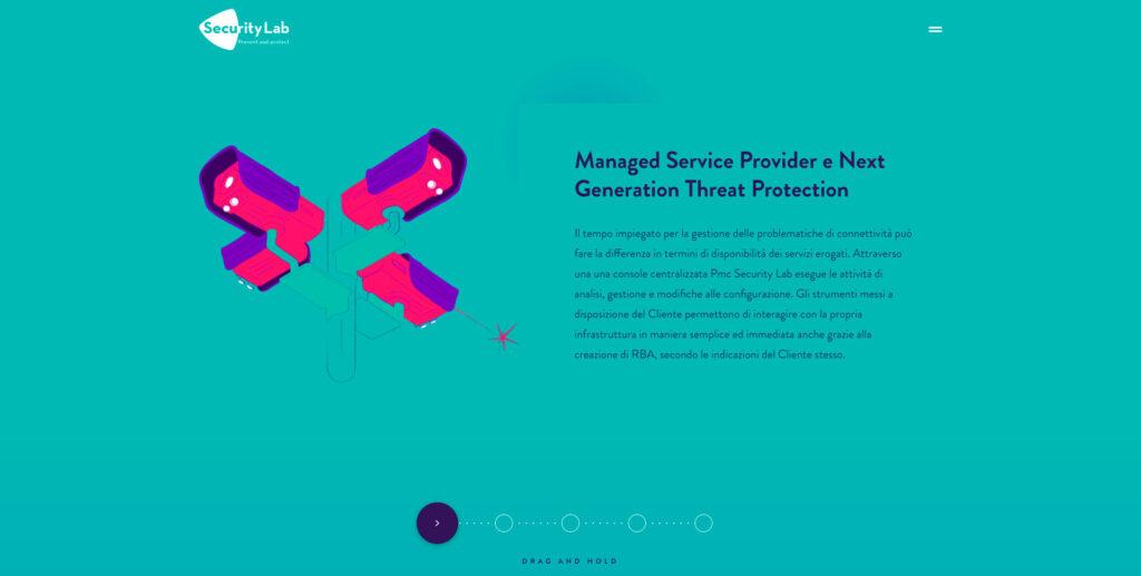 Security Lab website screenshot 2