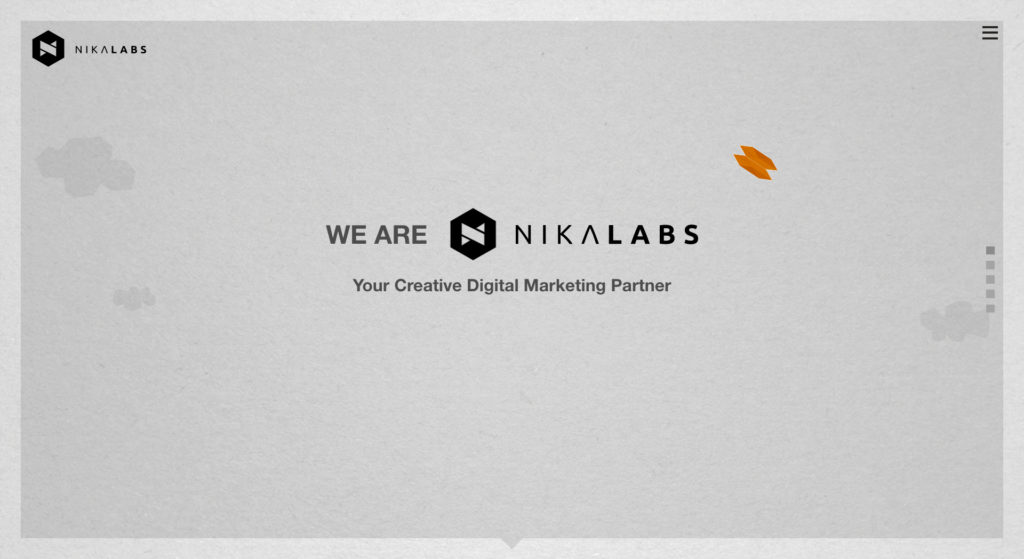 Nikalabs website screenshot 1