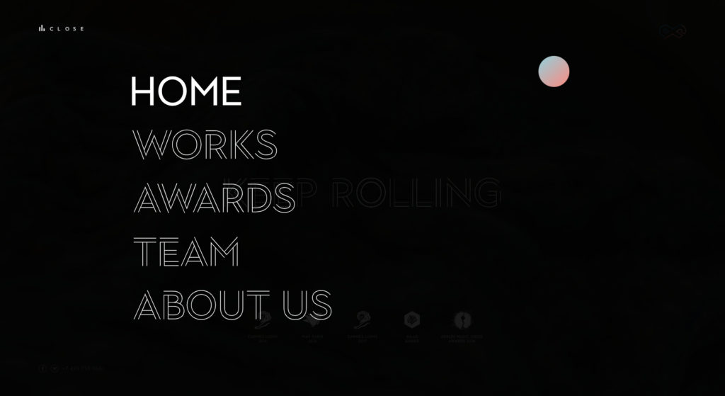 Profilm website screenshot 5