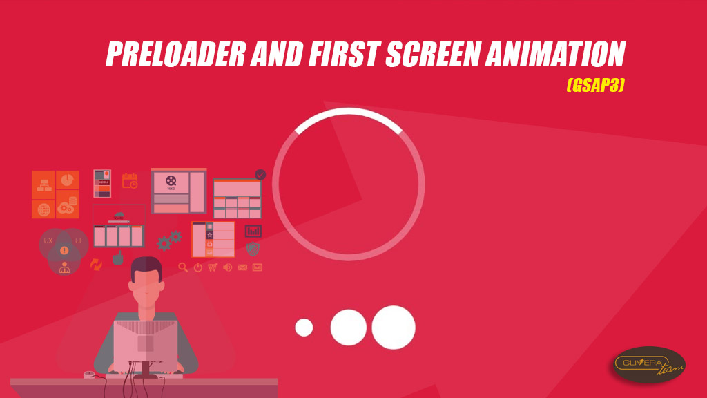 How to create preloader with animation