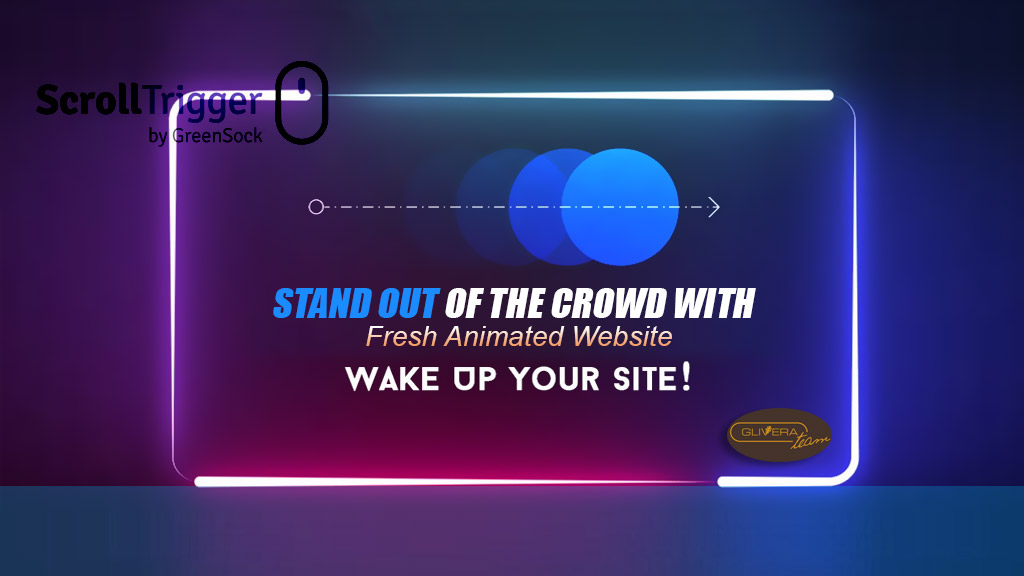 Stand Out of the Crowd with Fresh Animated Website