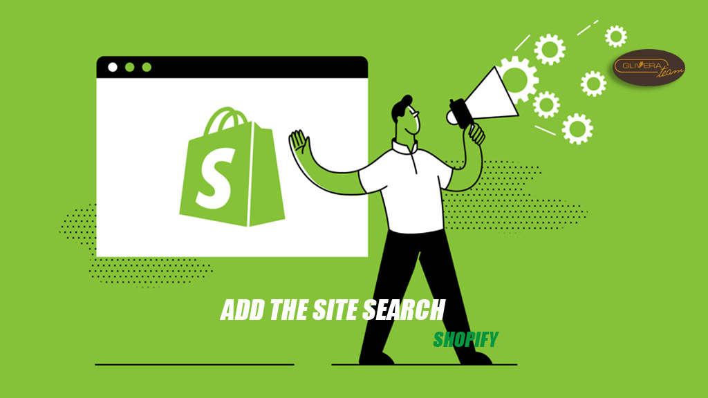 Shopify add the site search - frontend tips