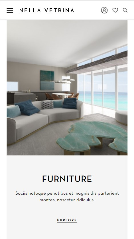 Nella Vetrina website screenshot 5