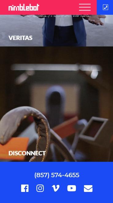 Nimblebot website screenshot 6