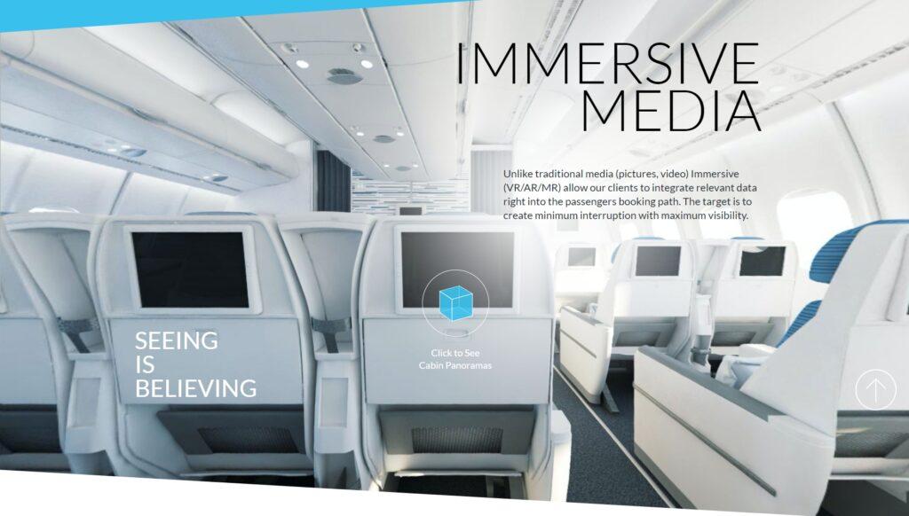 Frontend portfolio - Project Immersive Media