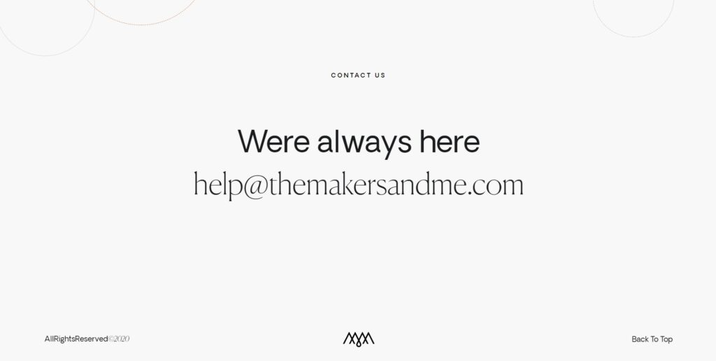 TMM website screenshot 2