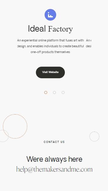 TMM website screenshot 5