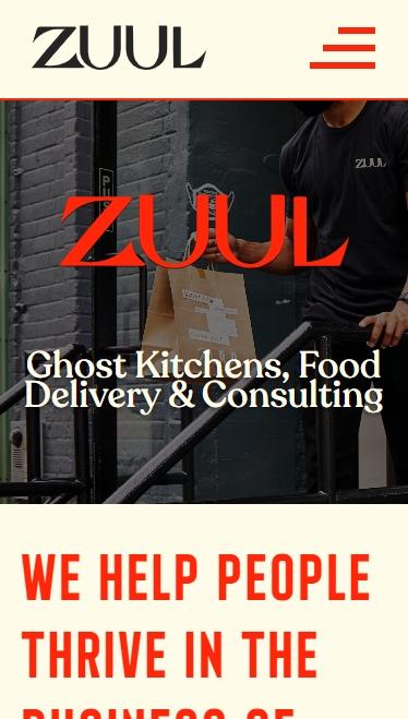 Frontend portfolio - Project Zuul